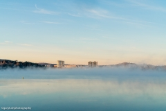Mist on Lake Ginninderra