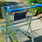 Officeworks shopping trolley