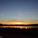 Sunrise over Lake Ginninderra