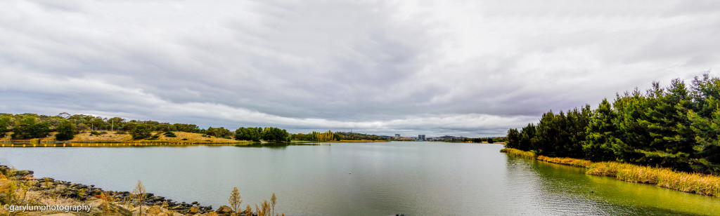 Panorama from the west bridge