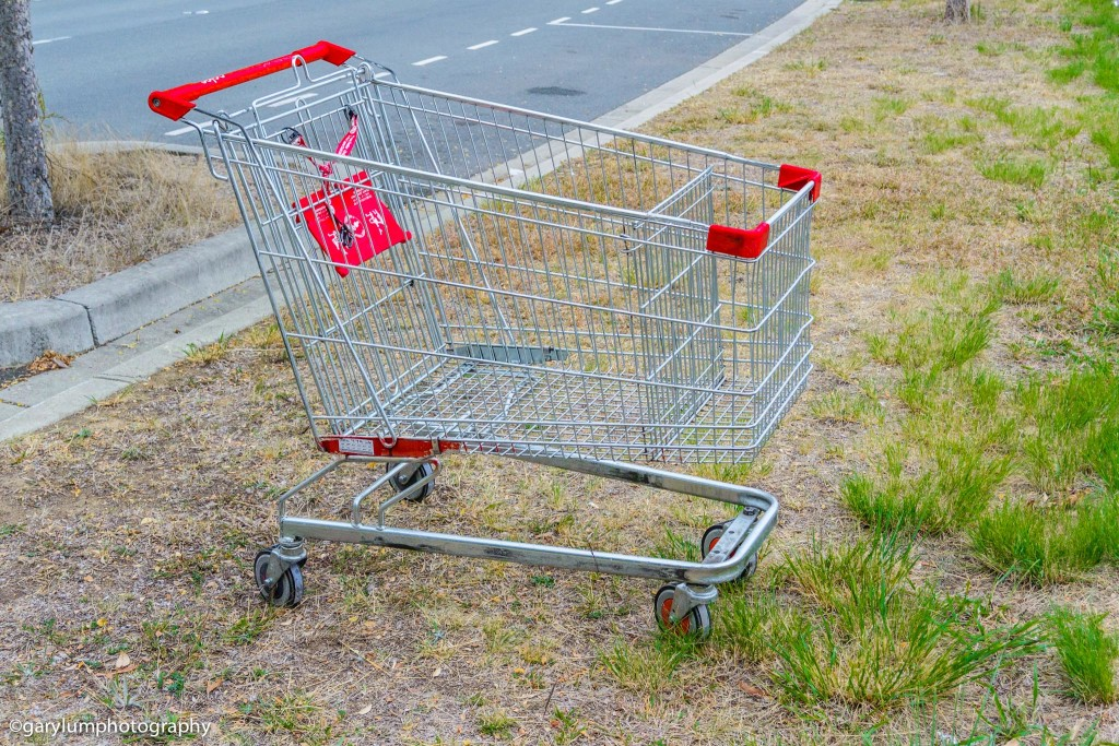 Coles shopping trolley