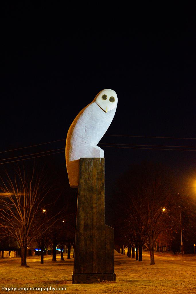 Belconnen Owl statue