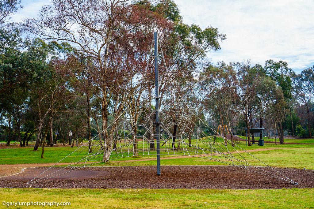 Playground equipment Lake Ginninderra